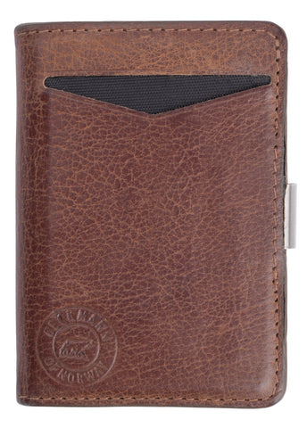 Wallet: Cardholder Brown