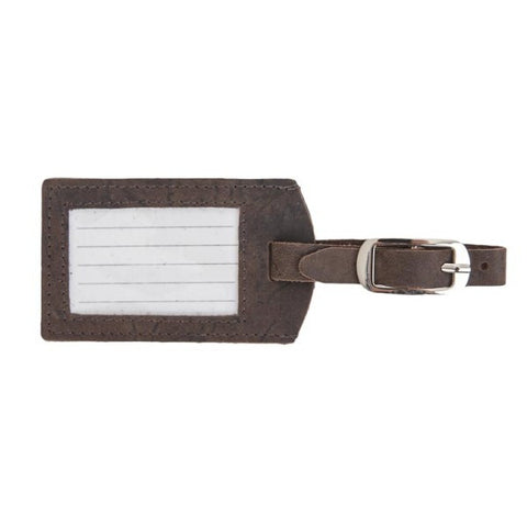 Luggage Tag, brown