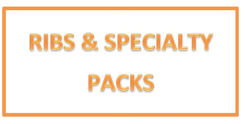 Ribs & Speciality Packs