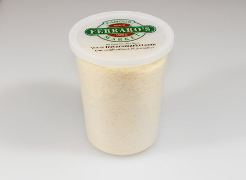 ***Imported Parmesan Grated Cheese  $4.99lb Sale $3.98lb