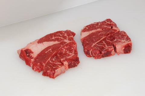 "*Beef Chuck ""Spencer"" Steaks  $5.89lb   Sale Price $3.98lb"
