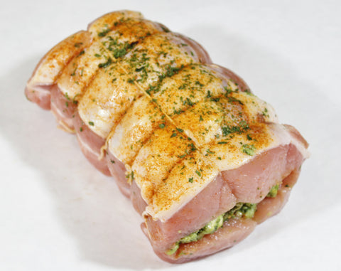 ***Stuffed Boneless Center - Cut  Pork Loin  $5.49lb  Sale $3.99lb