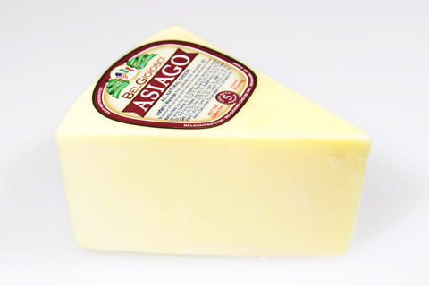 *Belgioioso Asiago Cheese (By the Wedge)  $5.99lb   Sale Price $4.99lb