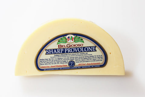 Belgioioso Sharp Provolone Cheese  By the Wedge      $5.99lb