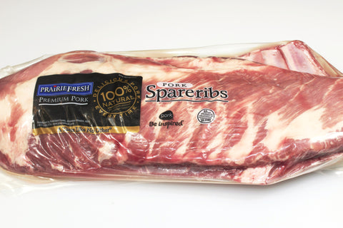Pork Spare Ribs  Cry-O-Vac Package  $3.99lb