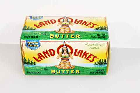 Land O' Lakes 16oz Butter 1/4's  $5.39
