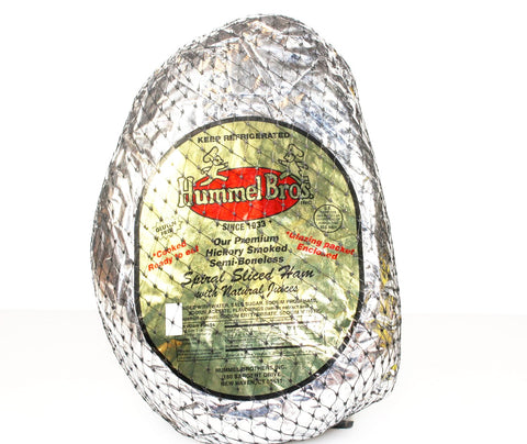 Hummel Bros' Spiral 1/2 Portion Hams