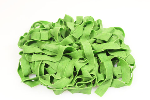 Fresh Spinach Flavored Pappardelle Pasta