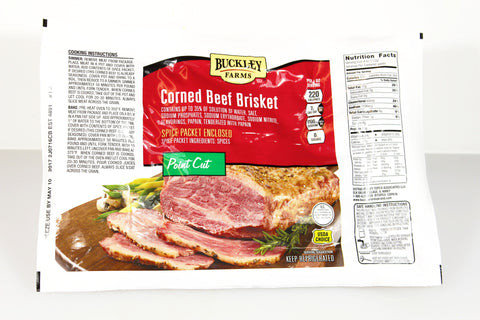 Buckley Farms Corned Beef Brisket