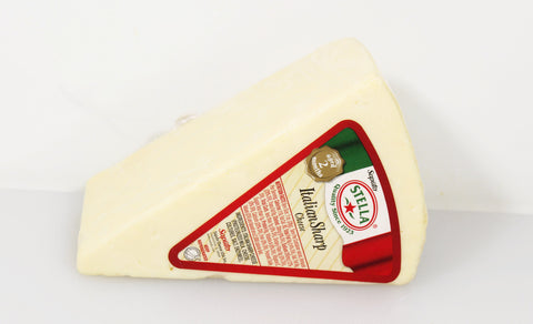 Stella Italian Sharp Table Cheese  By the Wedge  $6.99lb