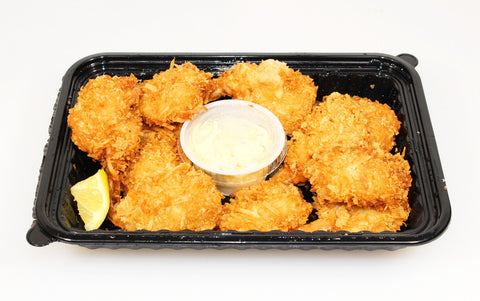 Ferraro' s Heat & Serve Fried Coconut Breaded Shrimp      $7.99lb