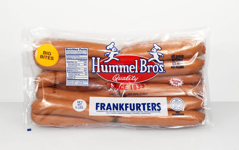 Hummel Brothers  5lb Big Bite Franks - Casing     $25.99
