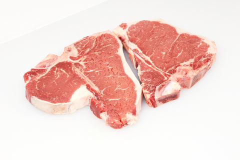 **Beef Porterhouse & T-Bone Steak  Combo Pack  $8.99lb