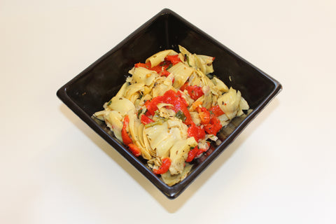 Ferraro's Own Artichoke & Roasted Peppers Salad  $3.99lb