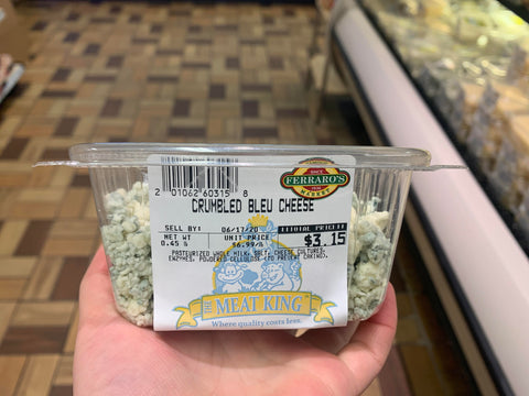 Fresh Crumbled Blue Cheese  $6.99lb