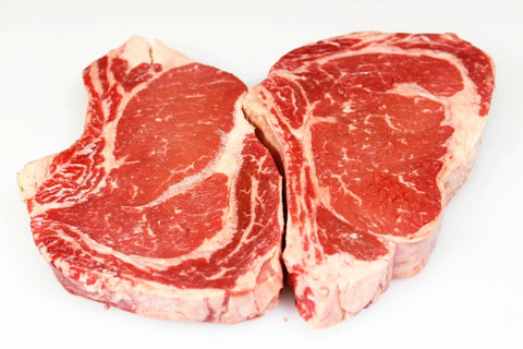**Beef Rib Eye Steaks Bone-in Cowboy Cut   $12.99lb