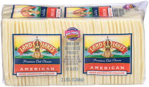 Land O Lakes Sliced American Cheese - By the 3lb block    $13.99