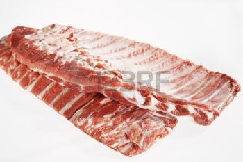 Pork Spare Ribs $2.99lb Approx. 4 1/2 pounds
