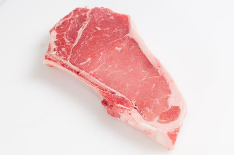 **Beef New York Strip Steaks - Bone in  Cowboy Cut  $10.99