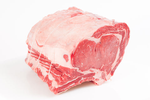 **Semi-Boneless New York Strip Roast $9.99lb
