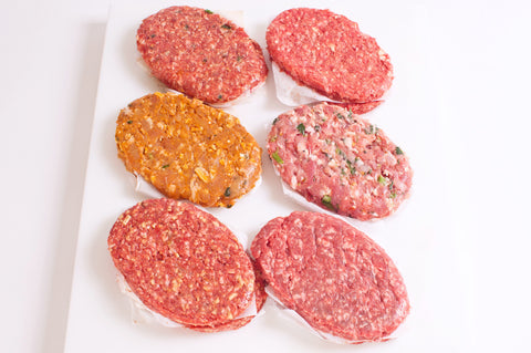*Ferraro's Angus Steak Burgers - Gourmet Burgers  -Meat King Exclusive Sale   $4.59lb