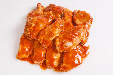 Marinated Chicken Wingettes    $3.99lb  Approximately 2 pound package