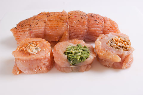 Chicken Pinwheel Roast  $6.99lb