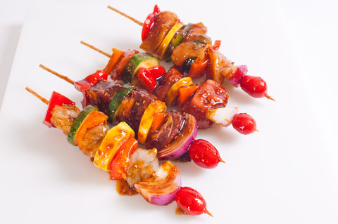 Chicken Kabobs  $6.99lb - $7.99lb  Approximately 2 Kabobs