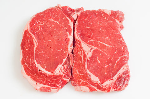 **Boneless Beef Rib Eye Steaks  Fireman's Cut $12.99lb