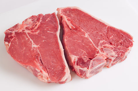 **Beef T-Bone Steaks   $12.99lb