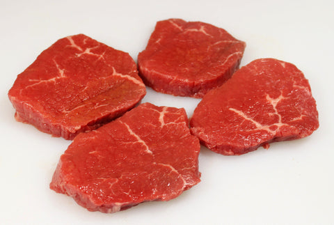 Eye Of The Round Steaks  $4.99lb