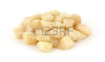 Fresh Dry Sea Scallops (20-30 per pound)  $16.99lb