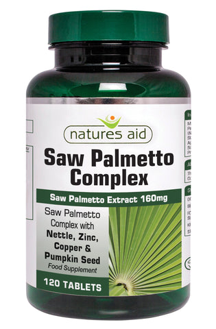 Nature's Aid Saw Palmetto Complex