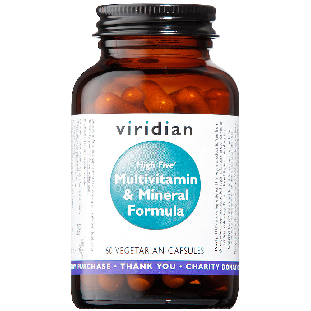 Viridian High Five Multivitamin & Minerals