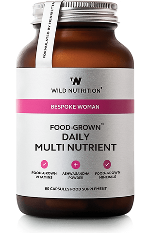 Wild Nutrition FOOD-GROWN Woman Daily Multi Nutrient 60Vcaps