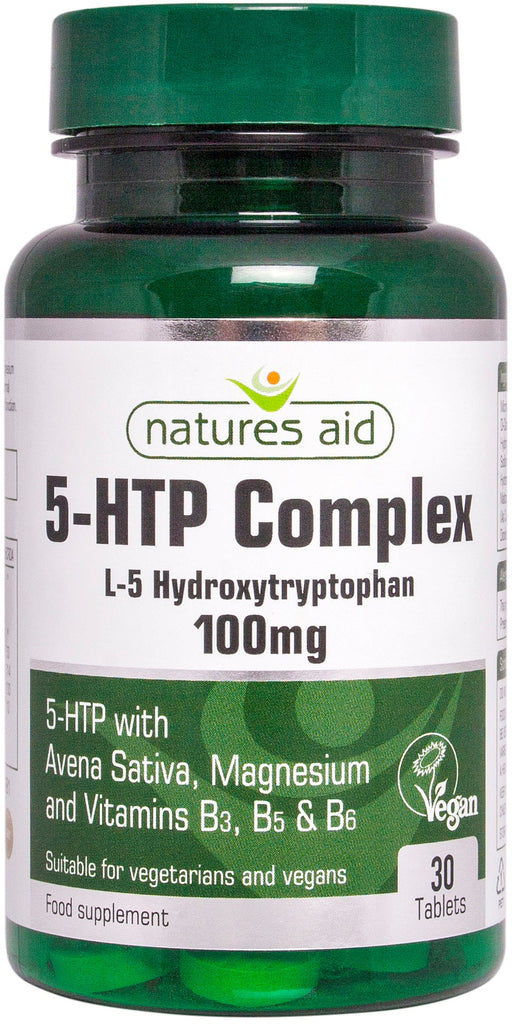 Nature's Aid 5HTP Complex 100mg