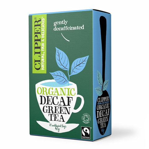 Clipper Organic Decaf Green Tea