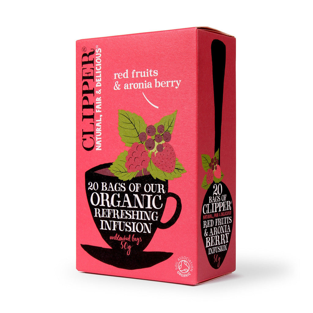 Clipper Organic Red Fruits & Aronia Tea