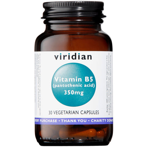 Viridian Vitamin B5 350mg