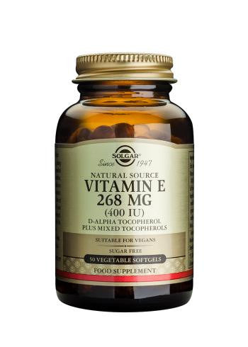 Solgar Vitamin E 268mg (400iu) Vegan