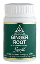 Bio-Health Ginger Root 500mg by Bio-Health