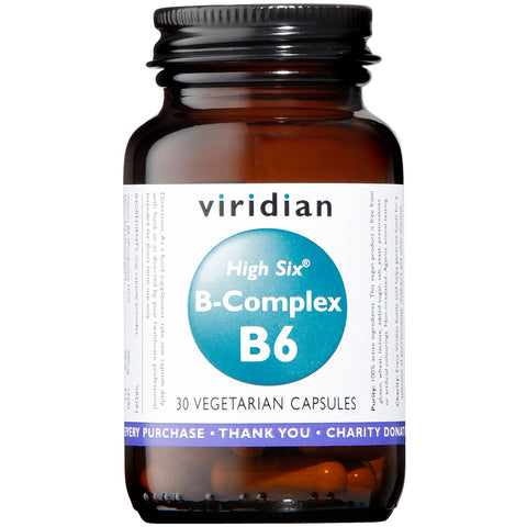 Viridian High 6 Vitamin B6 with B Complex