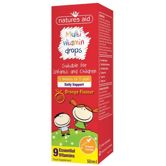 Nature's Aid Children's Multivitamin Drops 50ml