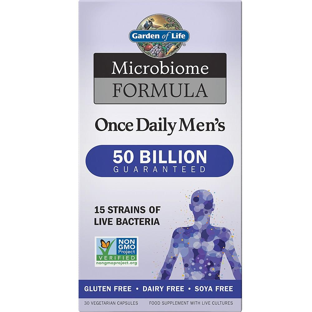 Garden of Life Microbiome Formula Men's Once Daily