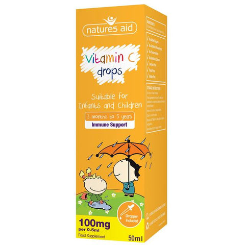 Nature's Aid Children's Vitamin C Drops