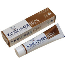 Kingfisher Toothpaste Baking Soda Fluoride Free by Kingfisher