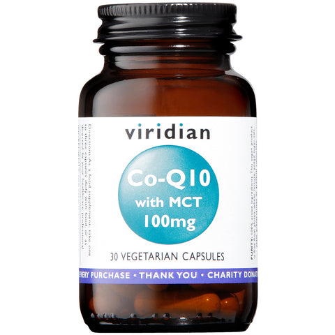 Viridian Co-Q10 with MCT 100 mg