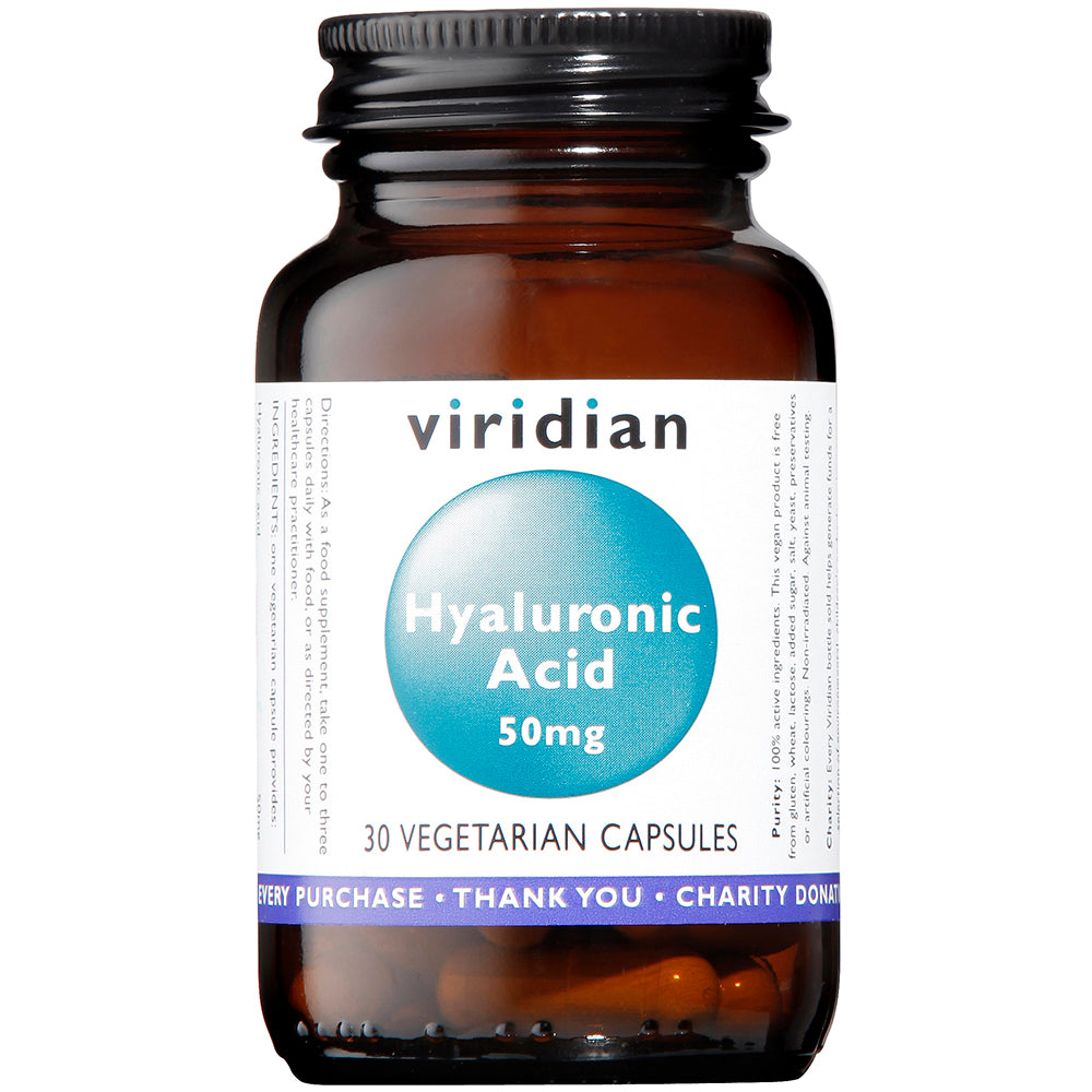 Viridian Hyaluronic Acid 50mg