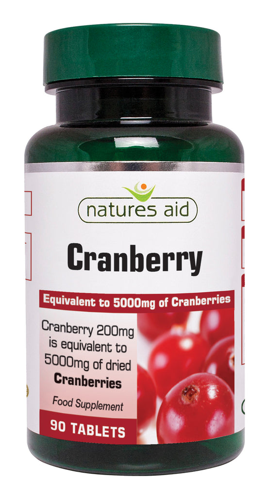 Nature's Aid Cranberry Extract 5000mg