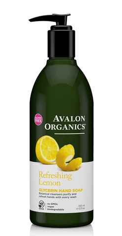 Avalon Lemon Liquid Hand Soap